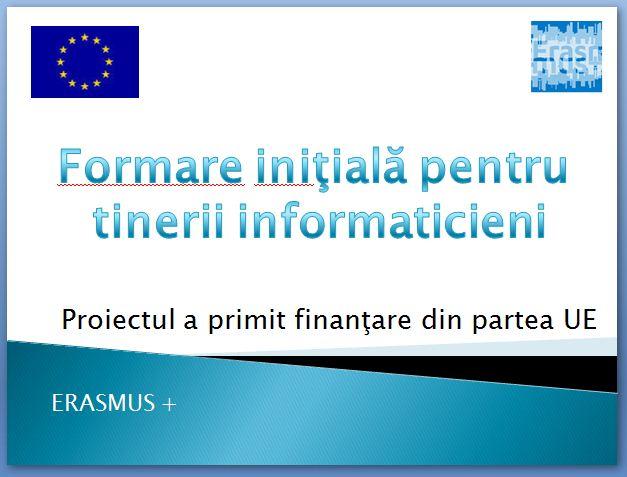Erasmus Pluas & CNTN Salonta